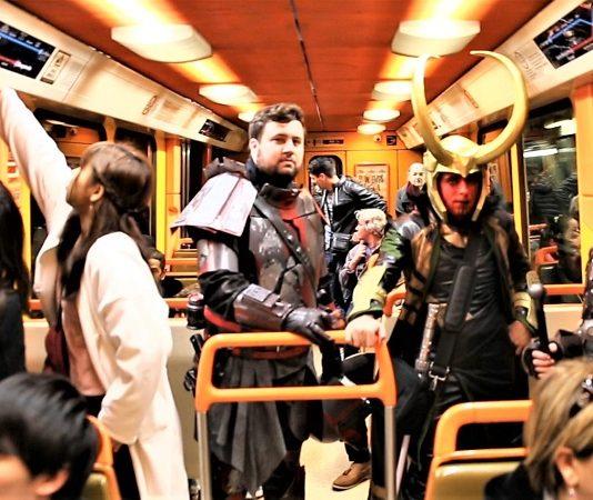 Metro Marseille cosplay