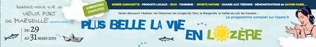 , La Lozère à l'honneur sur le Vieux-Port de Marseille