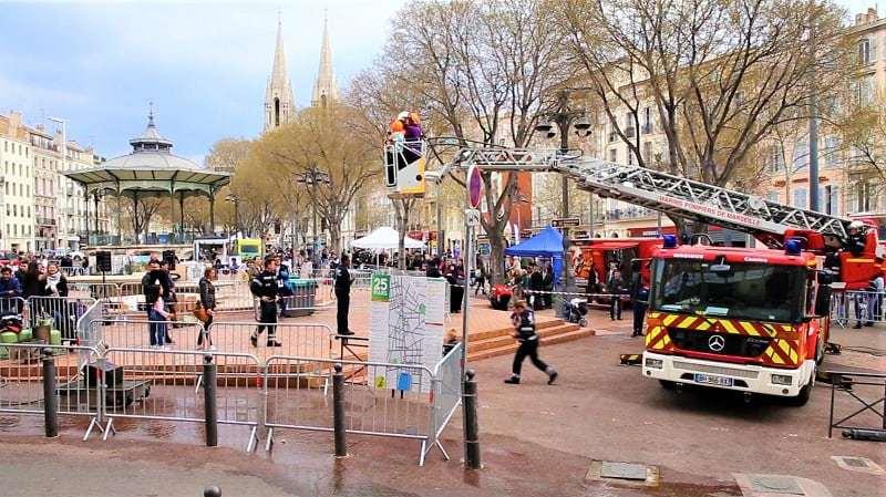, Les pompiers ont animé la Canebière ce dimanche !, Made in Marseille, Made in Marseille