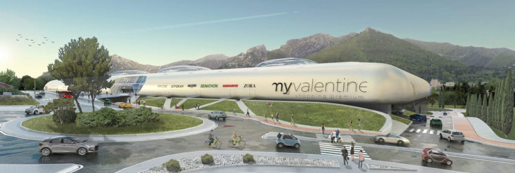 , Avec My Valentine, un nouveau centre commercial en projet pour 2021