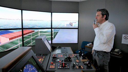 simulateur pilotage maritime