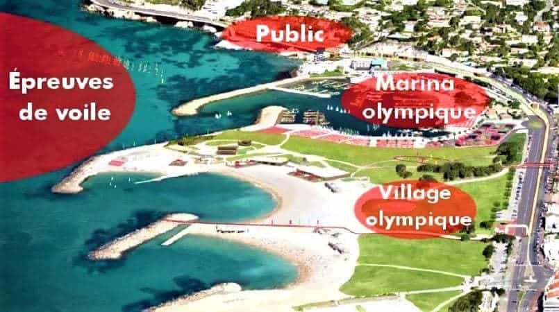 , Marseille va aménager sa grande Marina Olympique au Roucas Blanc