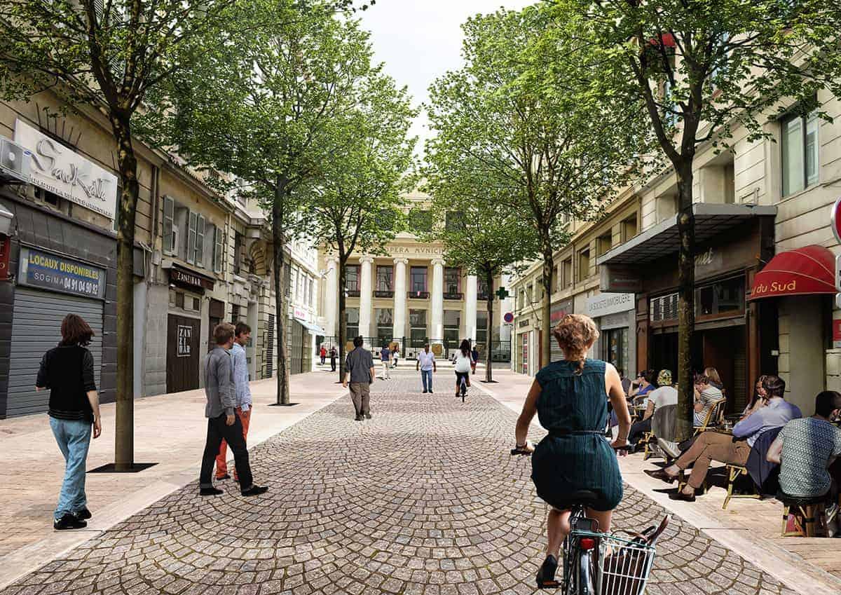 , Les quartiers Opéra et bas de la Canebière officiellement piétons le 2 décembre, Made in Marseille, Made in Marseille