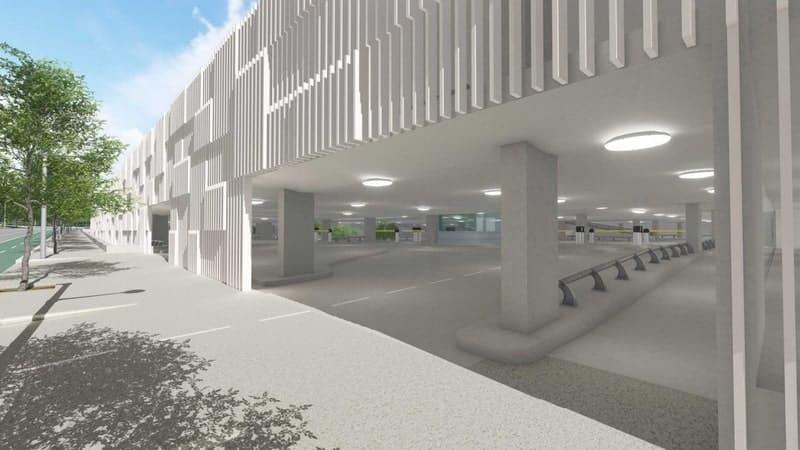 , Transformation totale pour le parking relais du métro la Rose