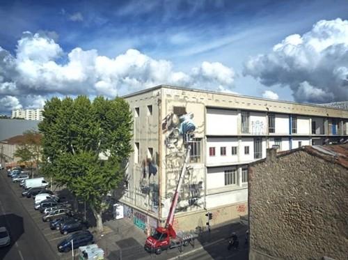 , Une fresque XXL de street-art inaugurée à la Belle de Mai, Made in Marseille