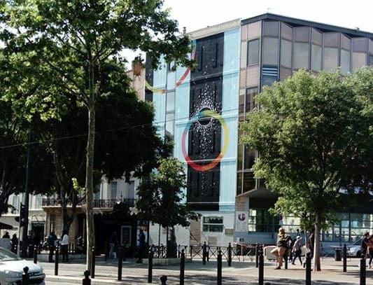 , L'ancienne mairie de la Canebière recouverte d'une fresque géante, Made in Marseille
