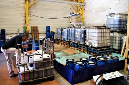 production de bio-carburant huile alimentaire