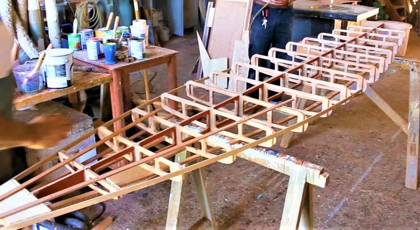 , Des paddles en bois fabriqués à Marseille en projet sur le chantier naval Borg