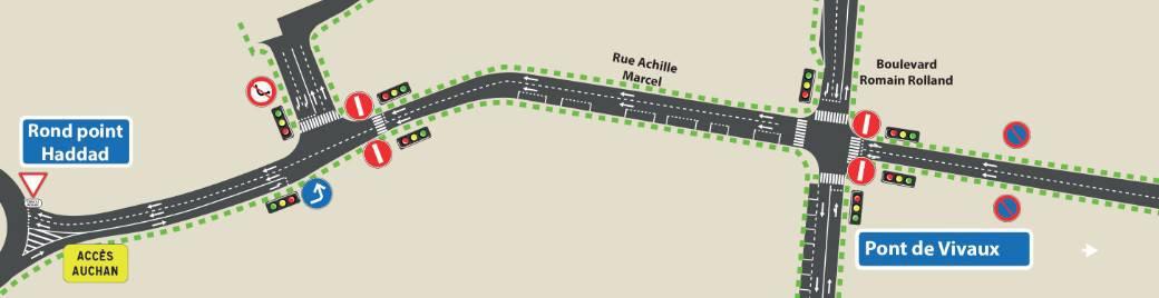 , La passerelle de Saint-Loup définitivement démontée après 40 années de service