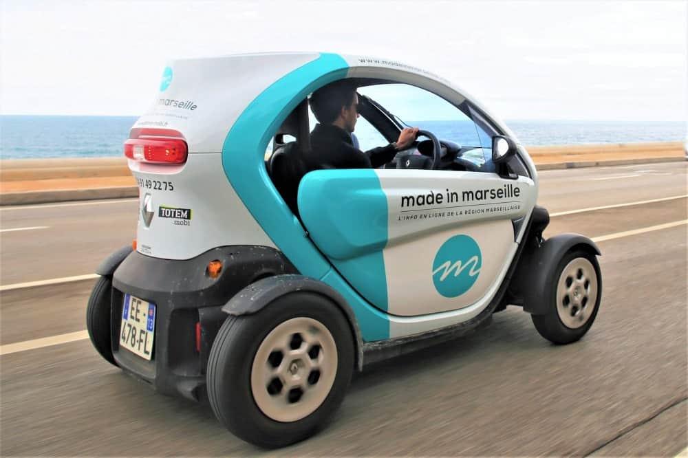 , Gratuité des voitures électriques en libre-service pour les soignants, Made in Marseille, Made in Marseille