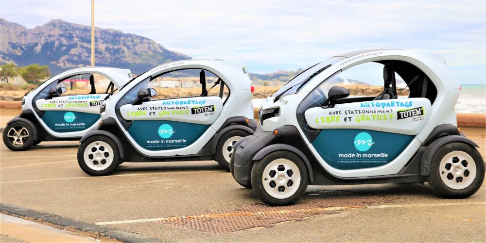 , Les voitures électriques Totem se posent en alternative aux transports en commun, Made in Marseille, Made in Marseille