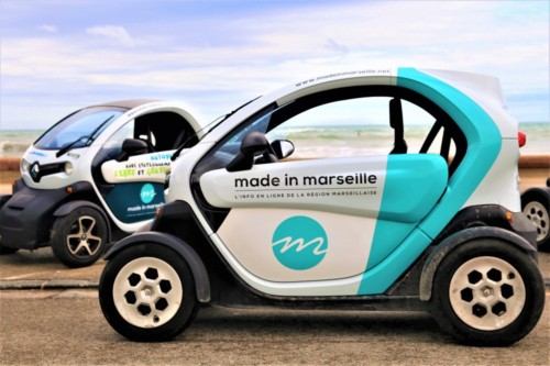 , Roulez en voiture électrique avec made in marseille et Totem mobi