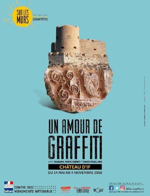 """, Une exposition de """"street art"""" s'installe au Château d'If à Marseille"""