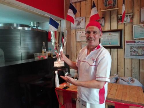 , Farid Seghari, le champion de France de la pizza 2018 est à Aix-en-Provence