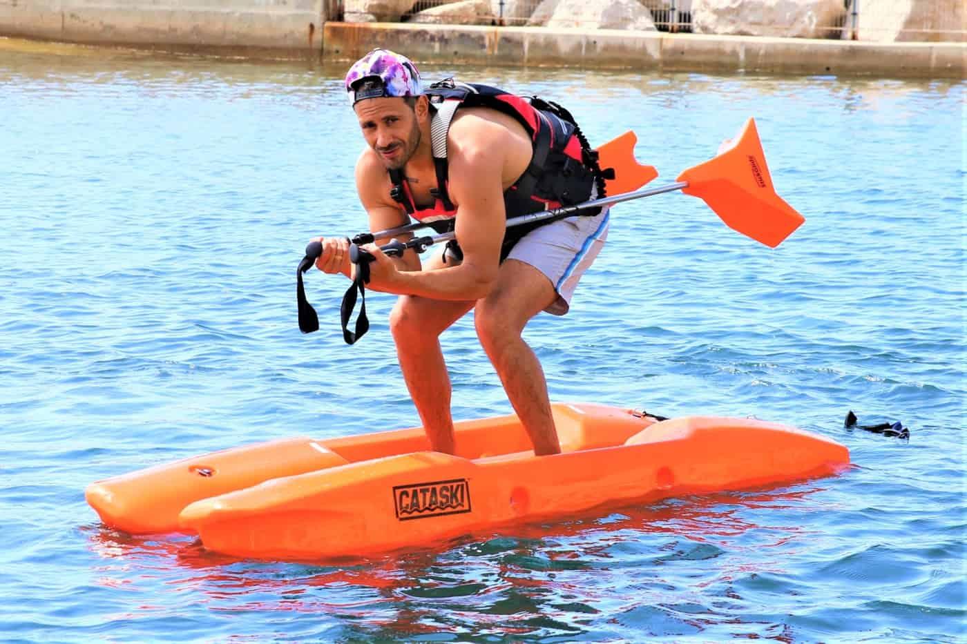 , Un éducateur marseillais invente le ski de fond sur l'eau !, Made in Marseille, Made in Marseille