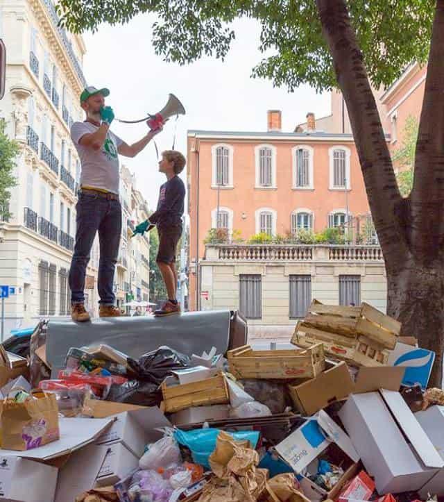 , Demain, 1 Déchet par Jour va ramasser les déchets de Félix Pyat