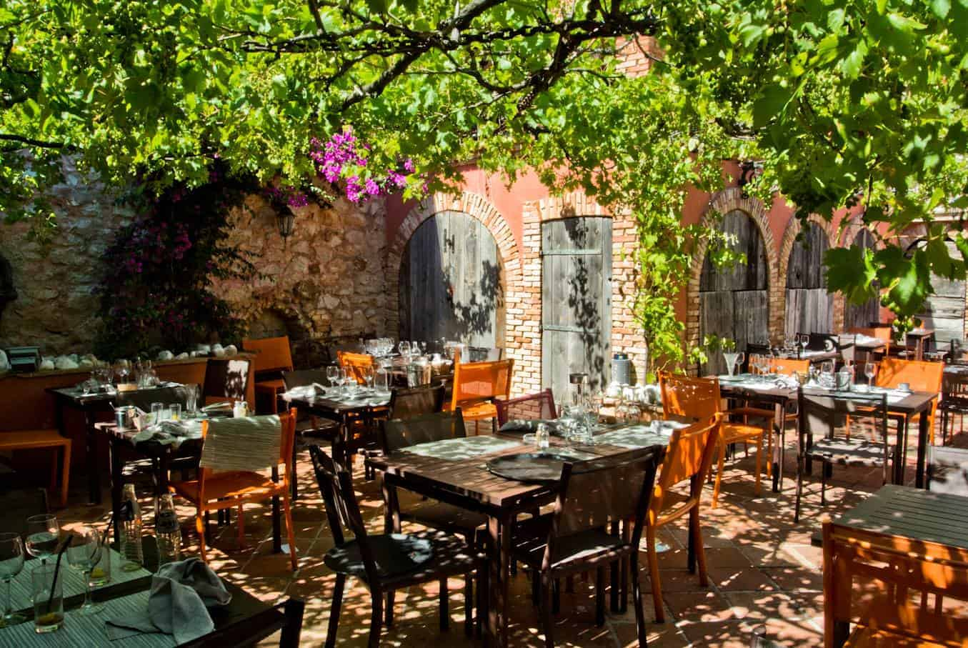 Les meilleurs restaurants marseille avec patio ou - Restaurant le jardin marseille ...