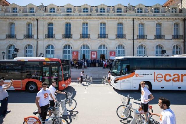 , La Métropole Mobilité : nouvelle marque, nouvelle couleur pour les transports