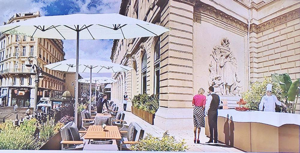 , La CCIMP veut installer un café sur la terrasse du Palais de la Bourse, Made in Marseille, Made in Marseille