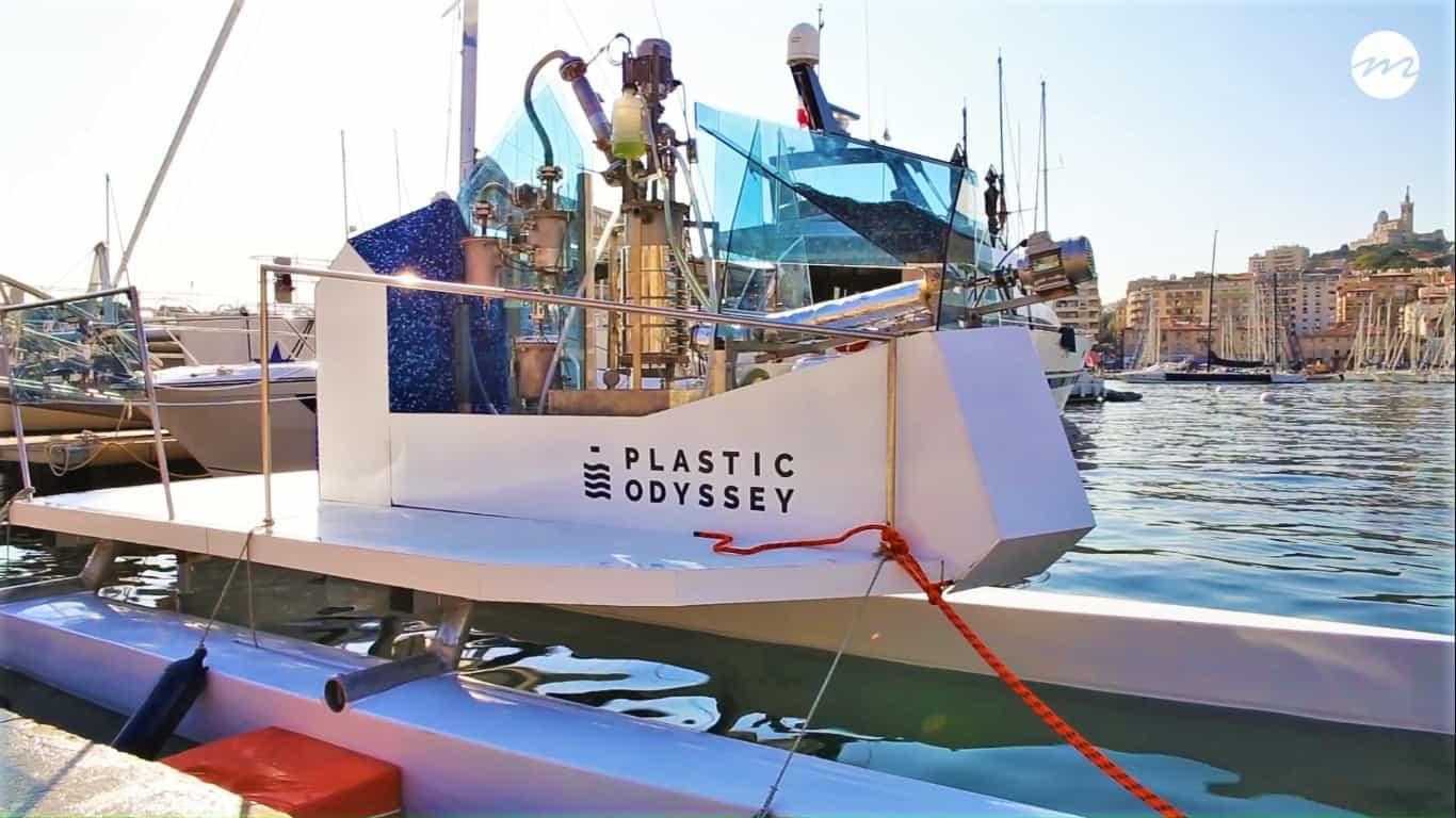 , Plastic Odyssey, le bateau qui carbure aux déchets plastiques