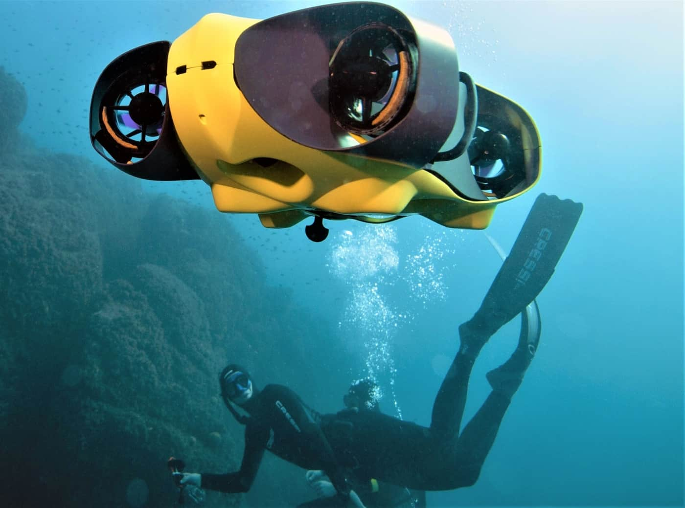 , iBubble : le drone sous-marin marseillais révolutionne la prise de vue subaquatique