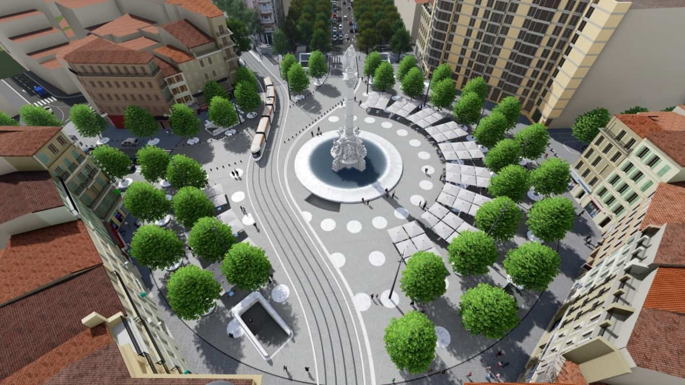 """tramway, La ligne 3 du tramway """"nord-sud"""" entre La Castellane et La Rouvière ouvrira en 2025"""