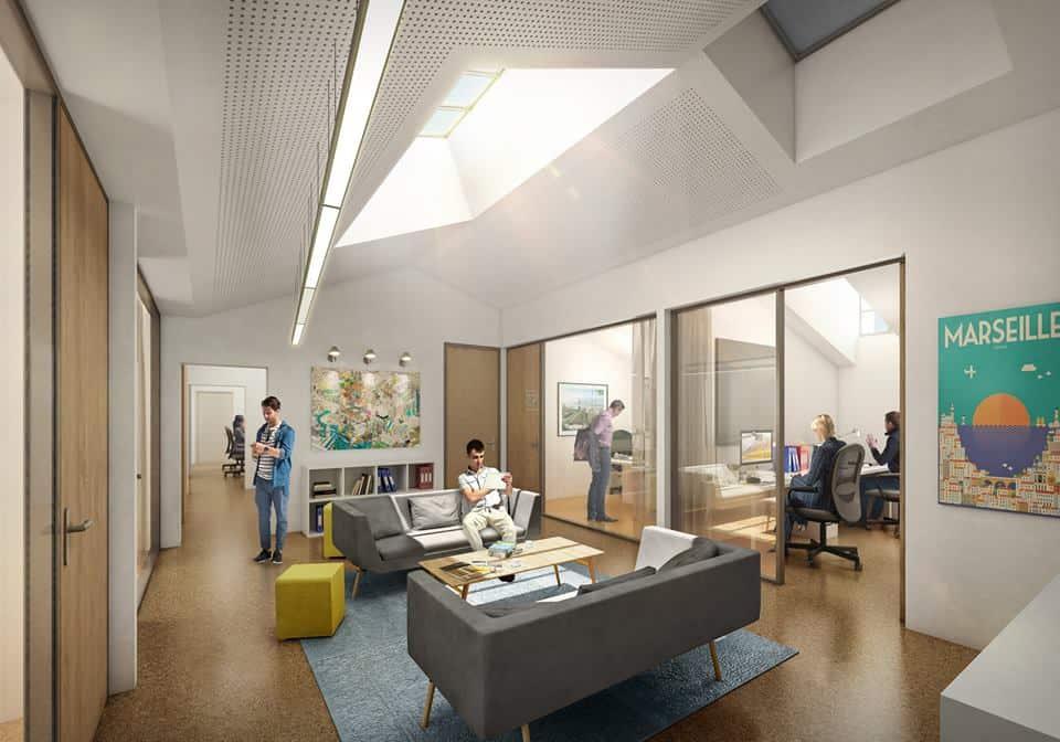 Cité fab le er espace de coworking pour architectes s installe