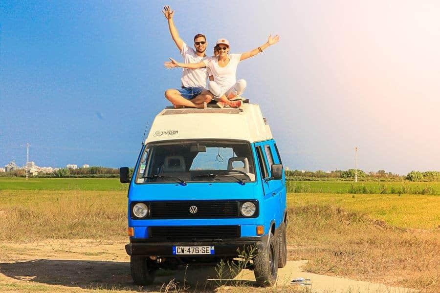 , Deux Marseillais en route pour le 1er tour du monde en van 100% électrique