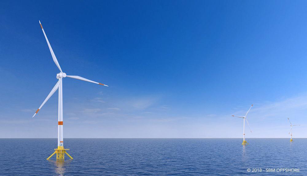 , L'éolien flottant joue son avenir sur les rives de la métropole marseillaise