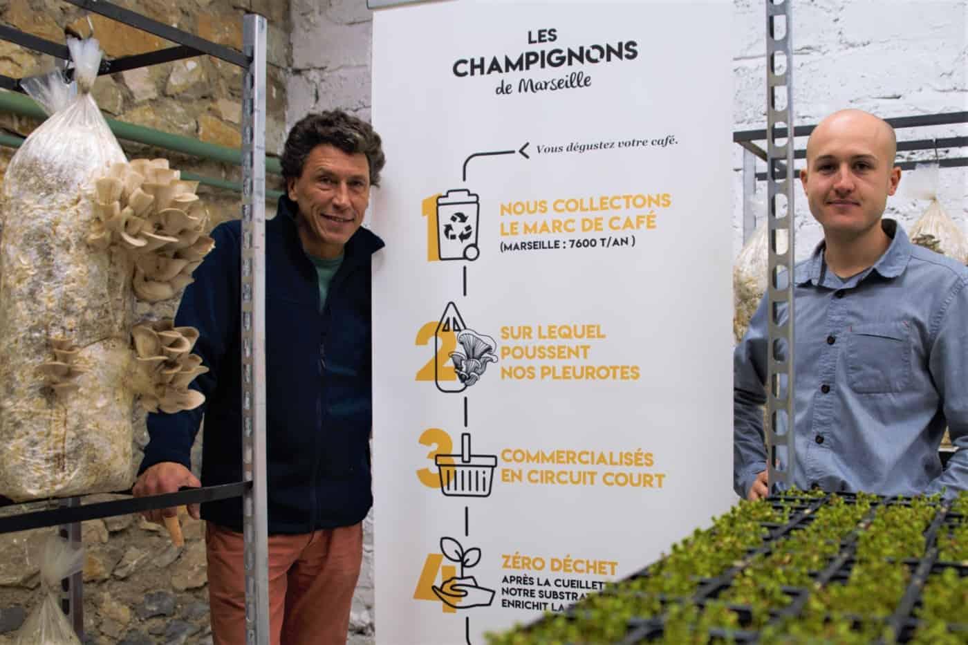 , Les champignons de Marseille prennent un nouveau départ au lycée des Calanques, Made in Marseille, Made in Marseille