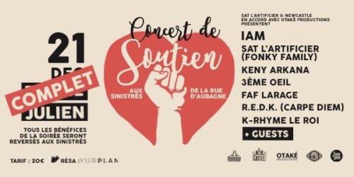 , Marseille – Mouvement de solidarité et collectes pour les sinistrés de la rue d'Aubagne