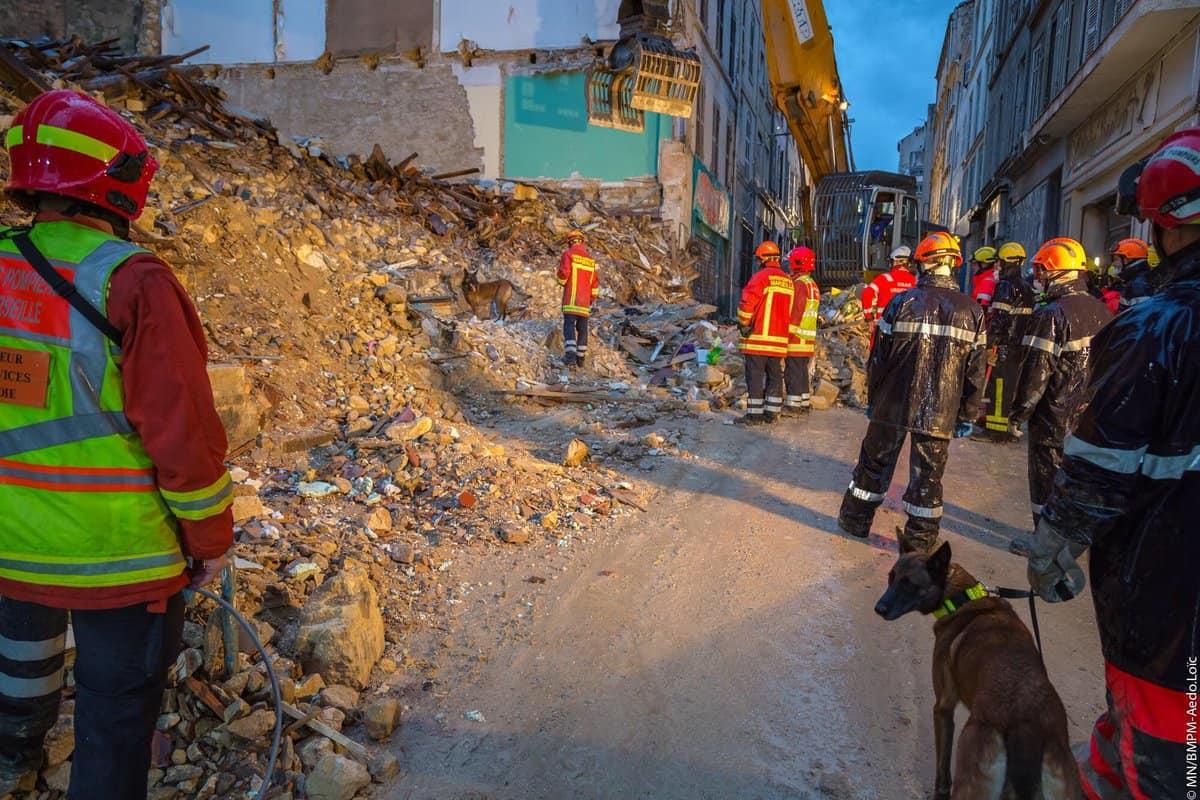 , En bref, la ville de Marseille va démolir deux immeubles dangereux à Noailles