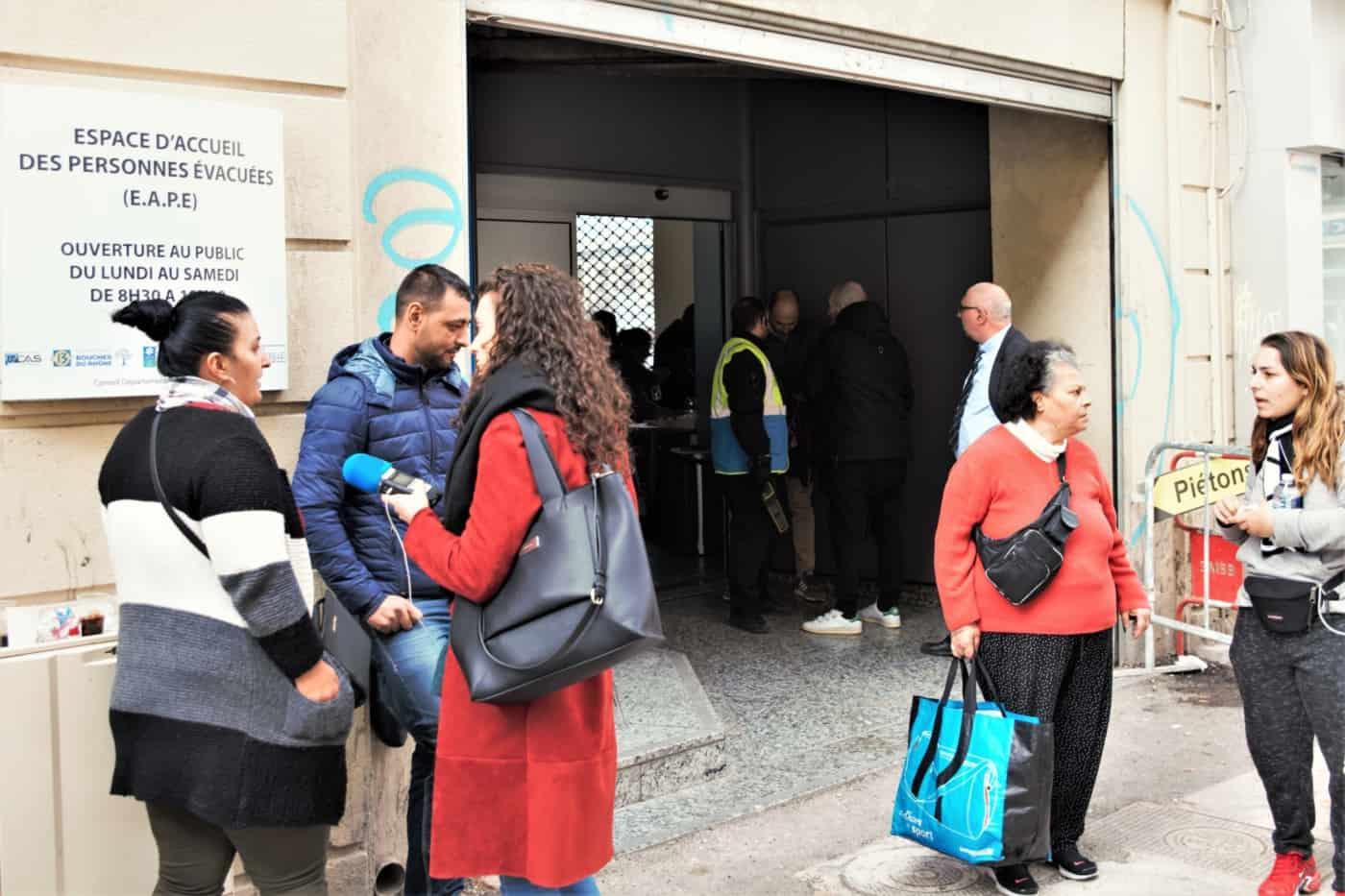 , Relogement, aide administrative et psychologique, la mairie ouvre un espace d'accueil des populations évacuées