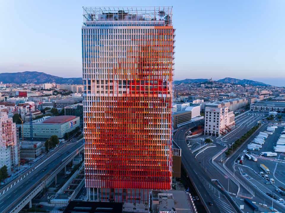 , La tour La Marseillaise primée au célèbre Prix de l'Équerre d'argent