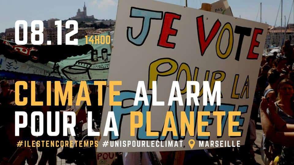 , Une marche pour le climat organisée samedi sur le Vieux-Port