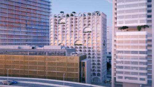 """, Top départ du chantier de la nouvelle tour """"Porte Bleue"""" sur Euroméditerranée, Made in Marseille, Made in Marseille"""