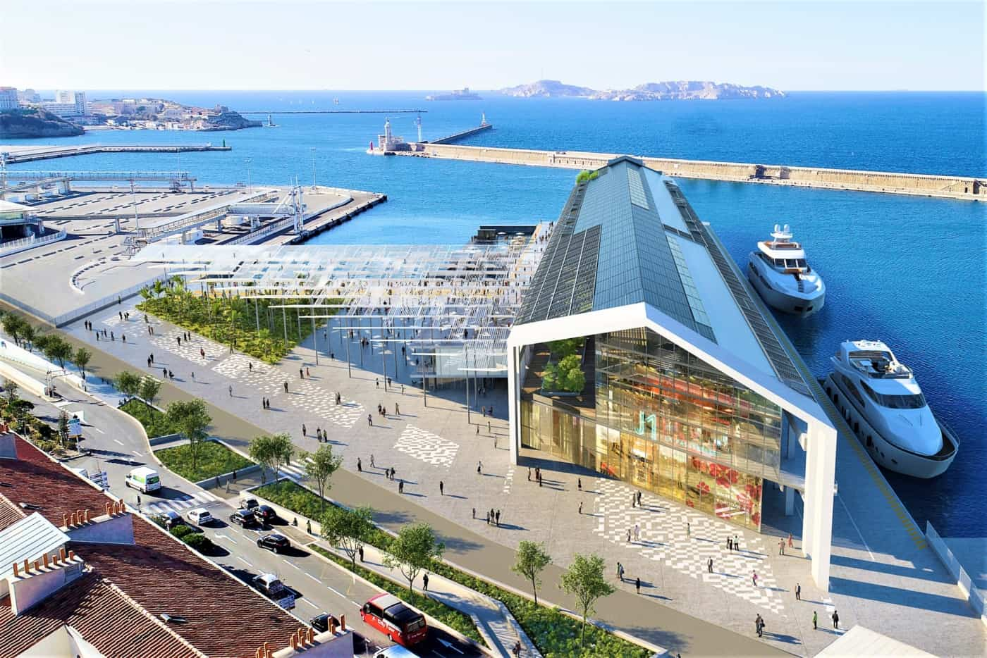, Signature imminente pour le projet de transformation du J1, Made in Marseille