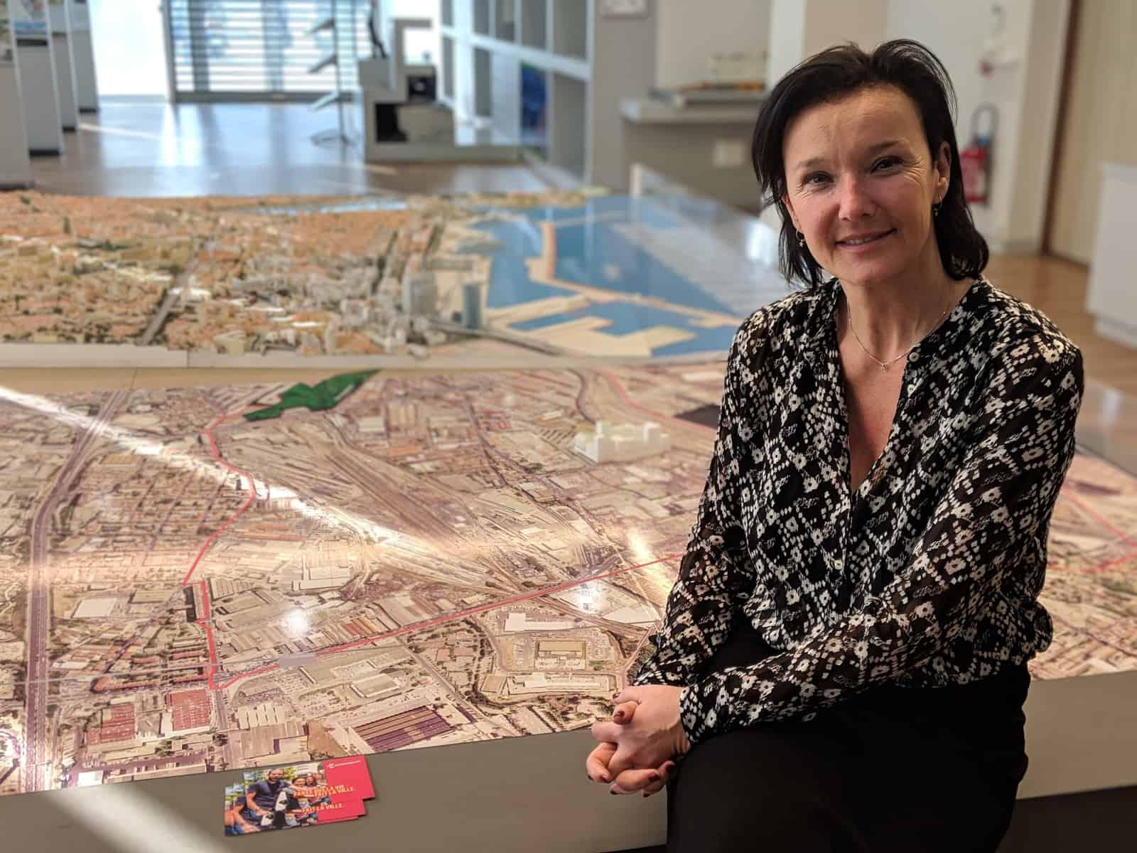 , Euroméditerranée, J1, Noailles, La Plaine, municipales, le tour des projets avec Laure-Agnès Caradec