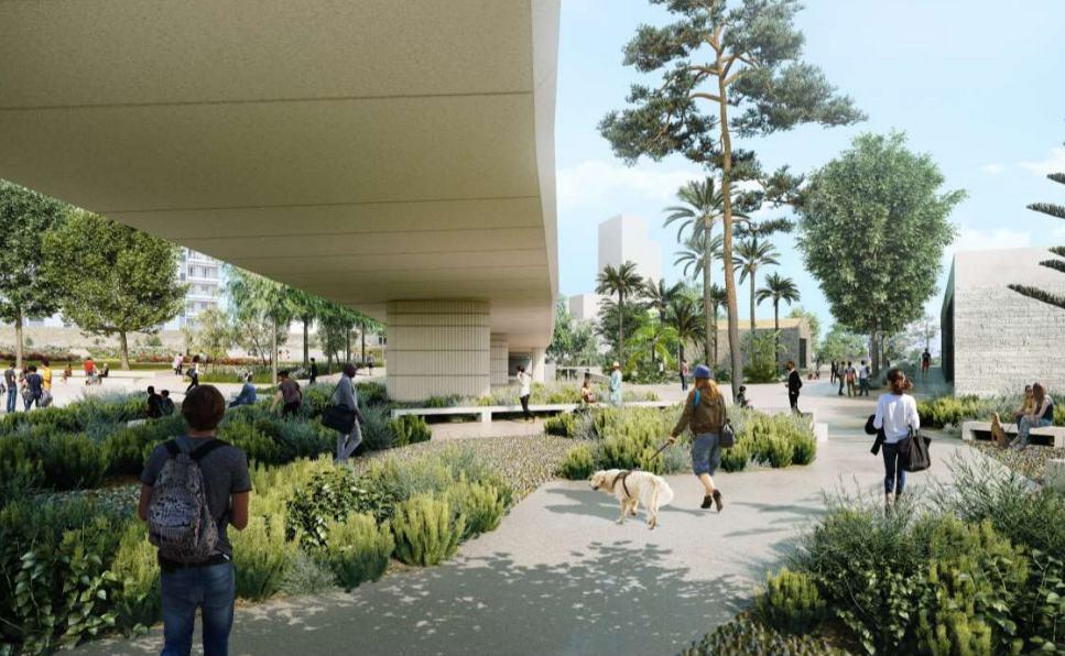 , À Euroméditerranée, le projet du parc Bougainville se dévoile en images
