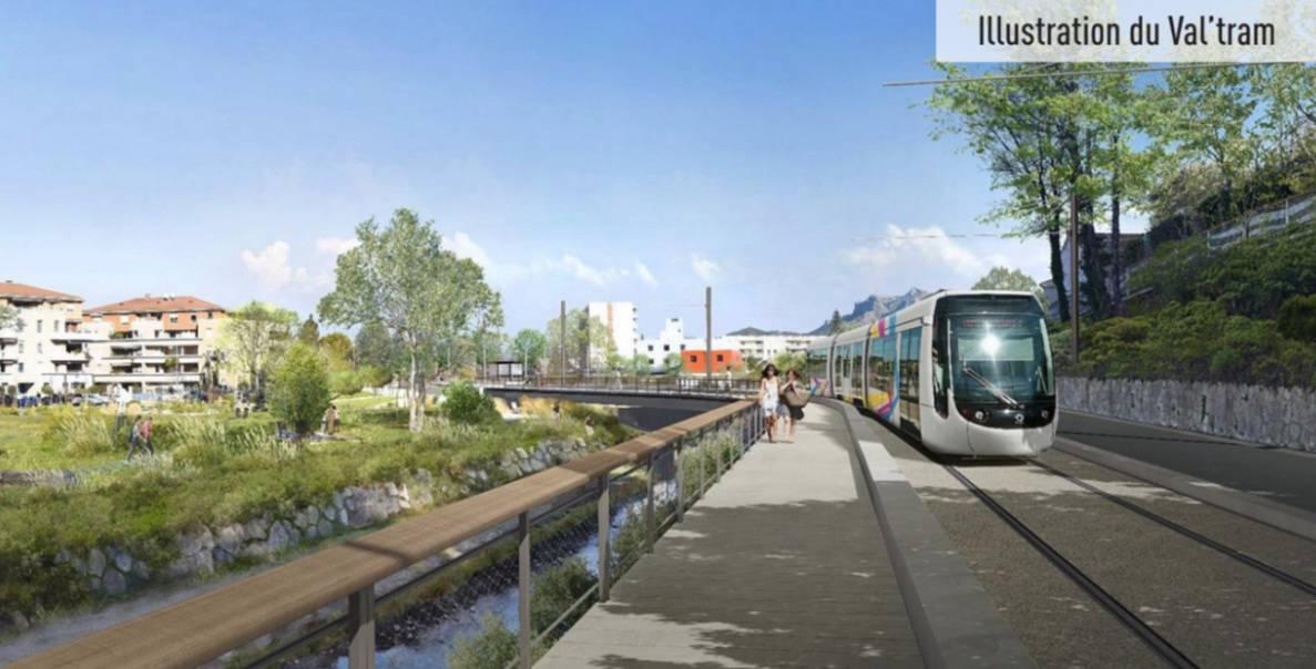 ValTram, Le Val'Tram de Valdonne reliera Aubagne à La Bouilladisse en 2024, Made in Marseille, Made in Marseille