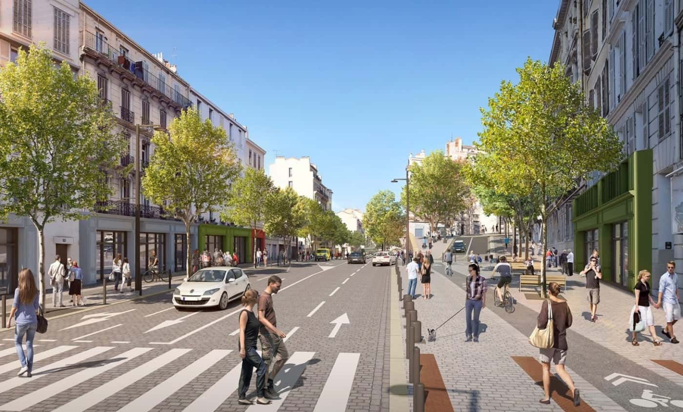 , C'est parti pour le chantier de transformation du cours Lieutaud, Made in Marseille, Made in Marseille