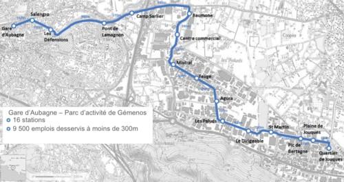 , Pour fluidifier le trafic, la Métropole mise sur des bus rapides et des voies réservées
