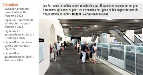 , Le nouveau métro automatique de Marseille se dévoile en images