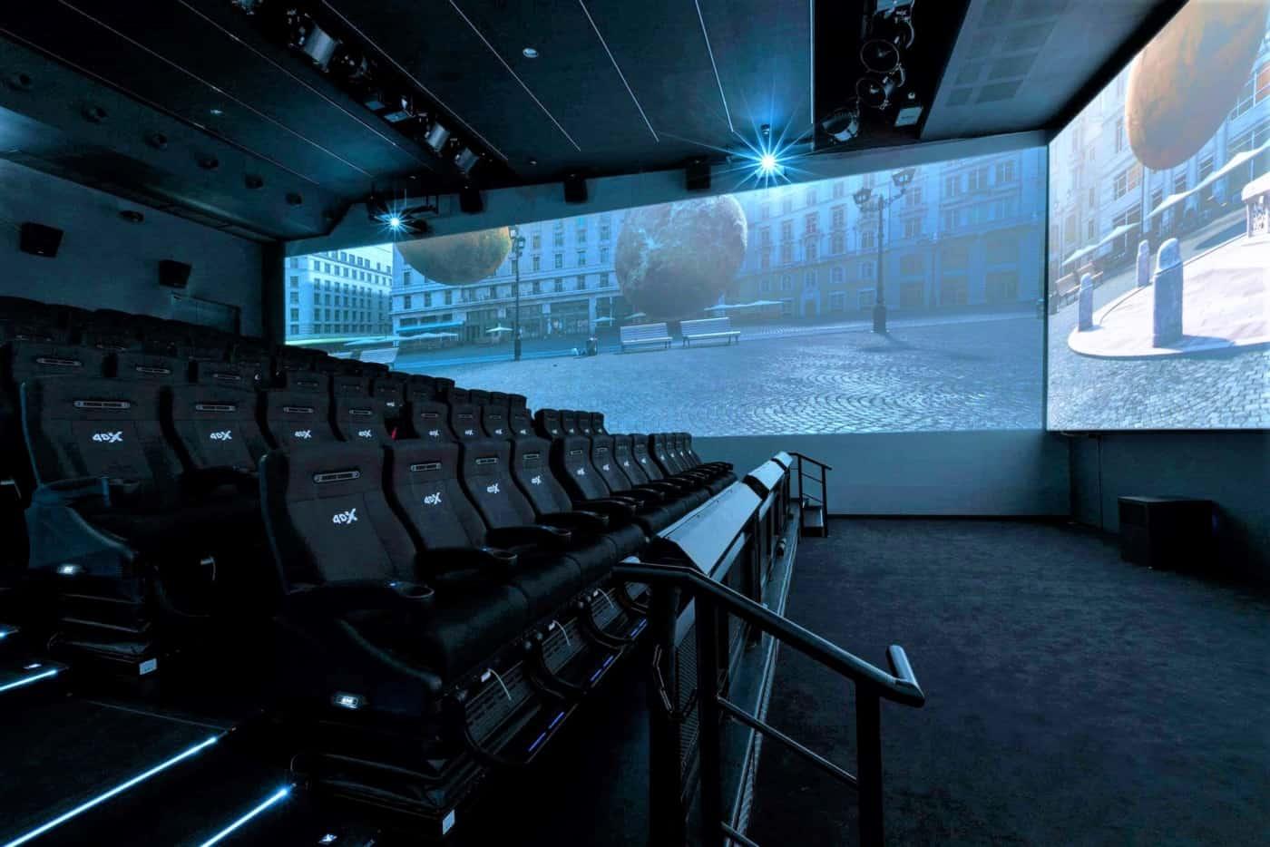 , Découvrez l'expérience de la salle 4DX du cinéma EuropaCorp La Joliette