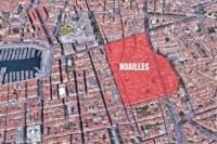 délimitation du quartier de Noailles