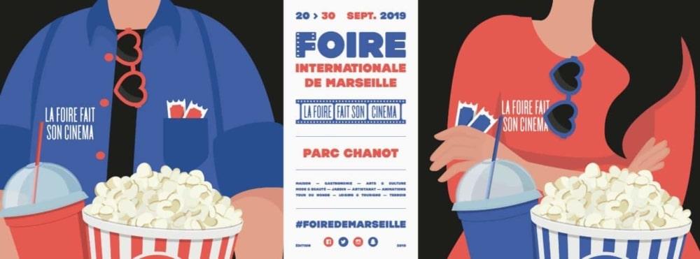 , La foire de Marseille, parrainée par le comédien Pef, met le cinéma à l'honneur