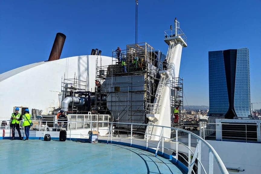 , Face à la pollution, La Méridionale teste un filtre à particules fines, Made in Marseille