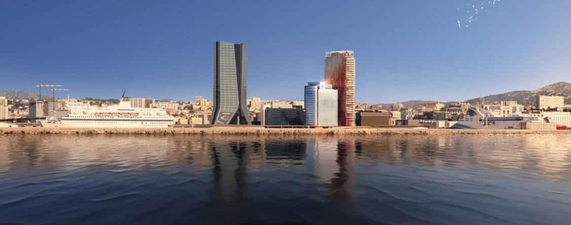 , Avec la Tour Mirabeau, la CMA CGM poursuit la skyline marseillaise