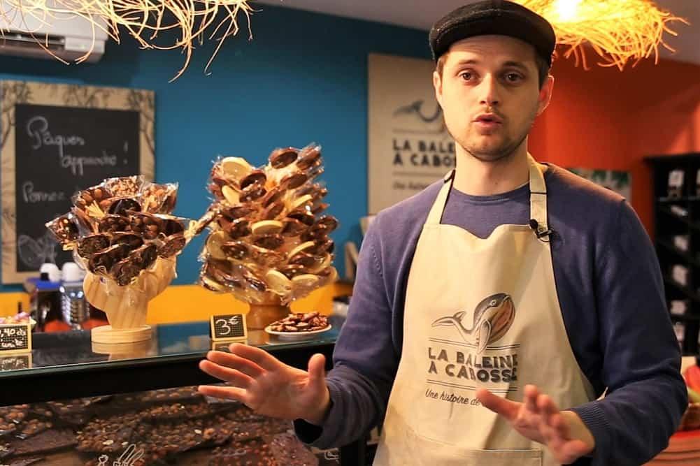 , De la fève de cacao à la tablette de chocolat : découvrez la Baleine à Cabosse