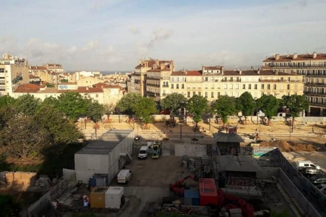 , En images – l'avancée du chantier de la Plaine
